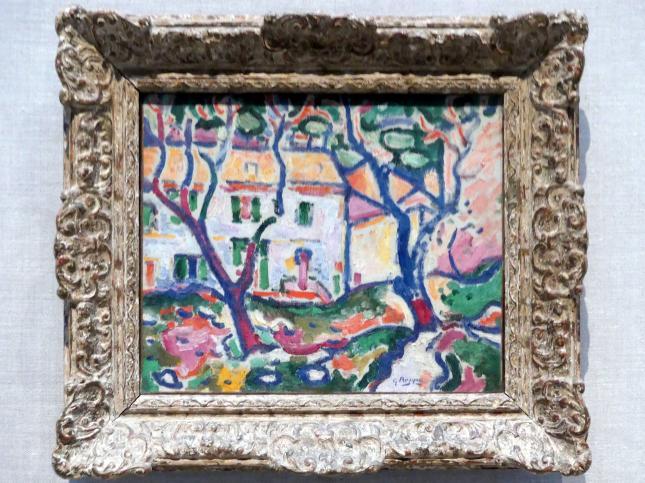 Georges Braque: Haus hinter Bäumen, 1906 - 1907