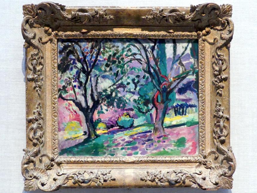 Henri Matisse: Olivenbäume bei Collioure, 1905