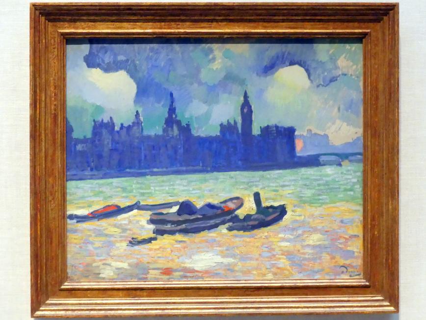 André Derain: Der Palace of Westminster, 1906 - 1907
