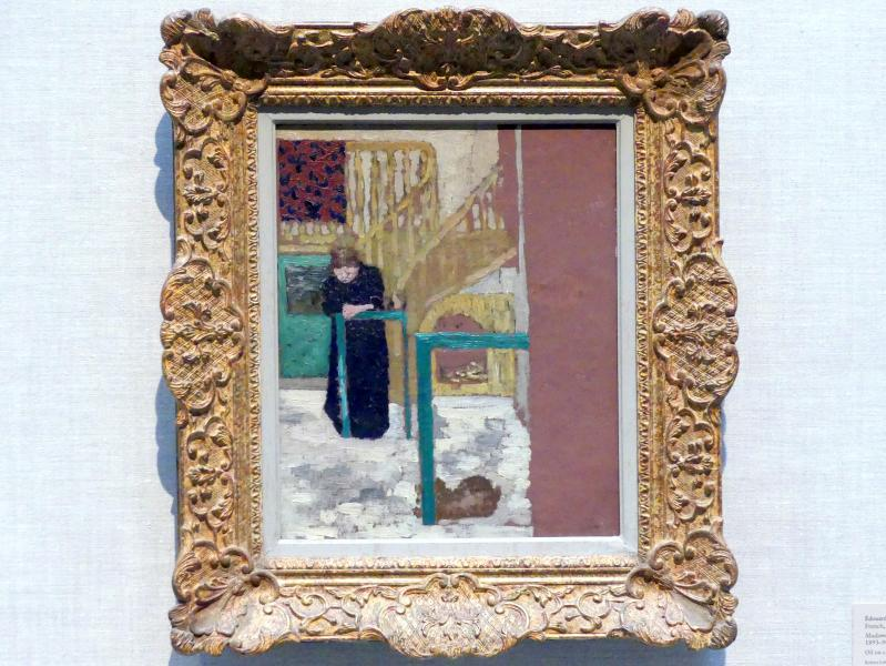 Édouard Vuillard: Frau Vuillard im Studio eines Bühnenbildners, 1893 - 1894