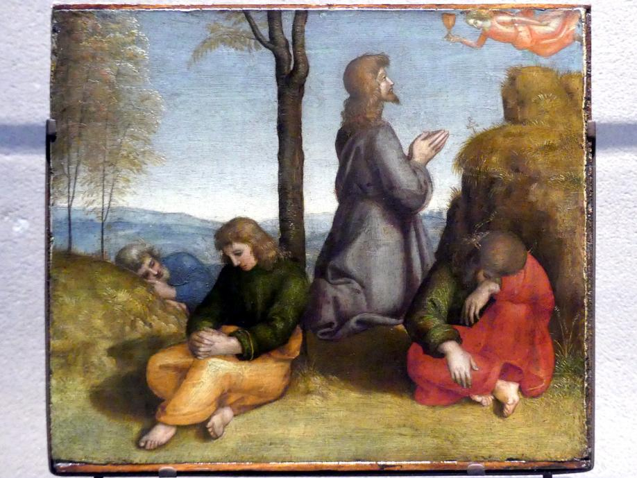 Raffaello Santi (Raffael): Christus am Ölberg, um 1504