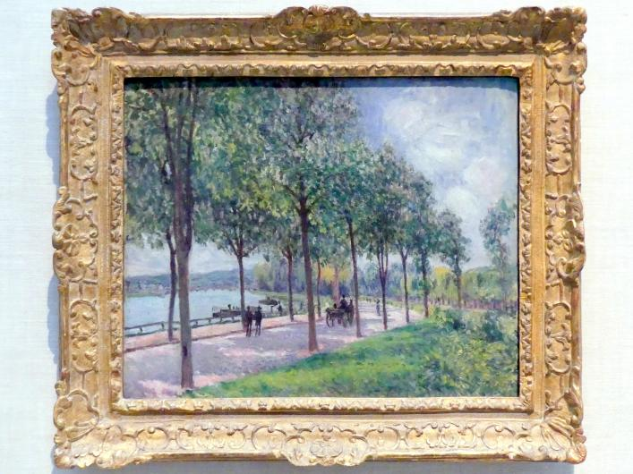 Alfred Sisley: Kastanienbaum-Allée, 1878
