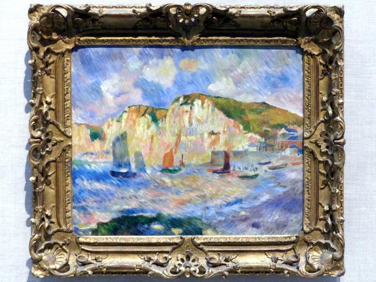 Auguste Renoir (Pierre-Auguste Renoir): Meer und Klippen, um 1885