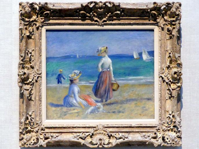 Auguste Renoir (Pierre-Auguste Renoir): Figuren am Strand, 1890