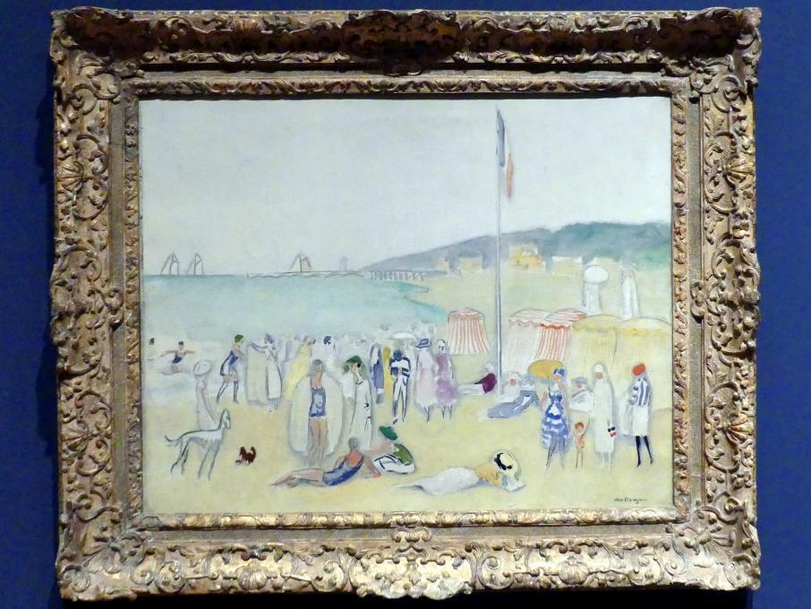 Kees van Dongen: Der Strand bei Deauville, 1945 - 1955