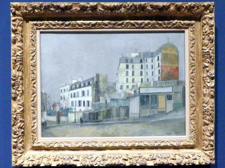 Maurice Utrillo: 40, Rue Ravignan, um 1913