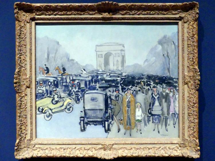 Kees van Dongen: Avenue du Bois, um 1925