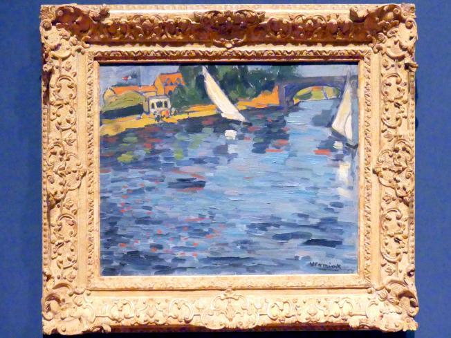 Maurice de Vlaminck: Segelboote bei Chatou, 1906