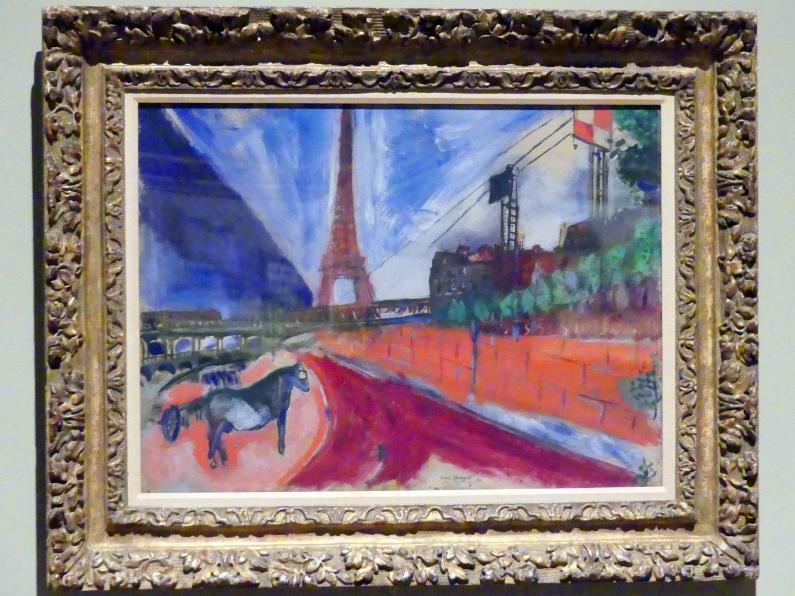 Marc Chagall: Der Pont de Passy und die Tour Eiffel, 1911