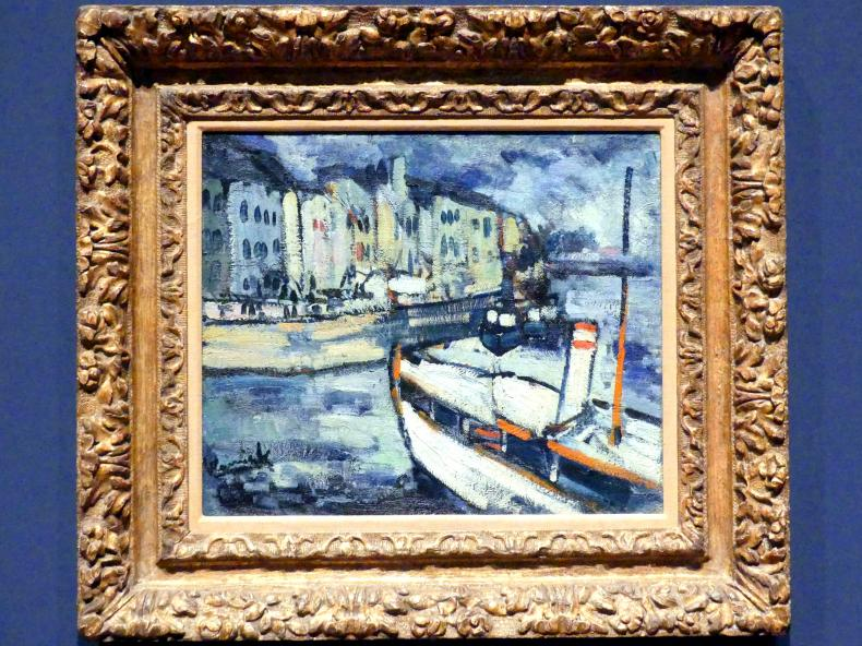 Maurice de Vlaminck: Sonnenlicht auf dem Wasser, 1905