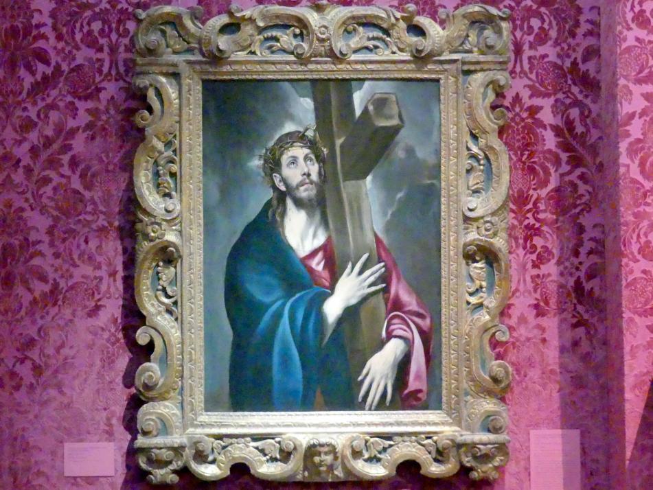 El Greco (Domínikos Theotokópoulos): Christus trägt das Kreuz, um 1577 - 1587