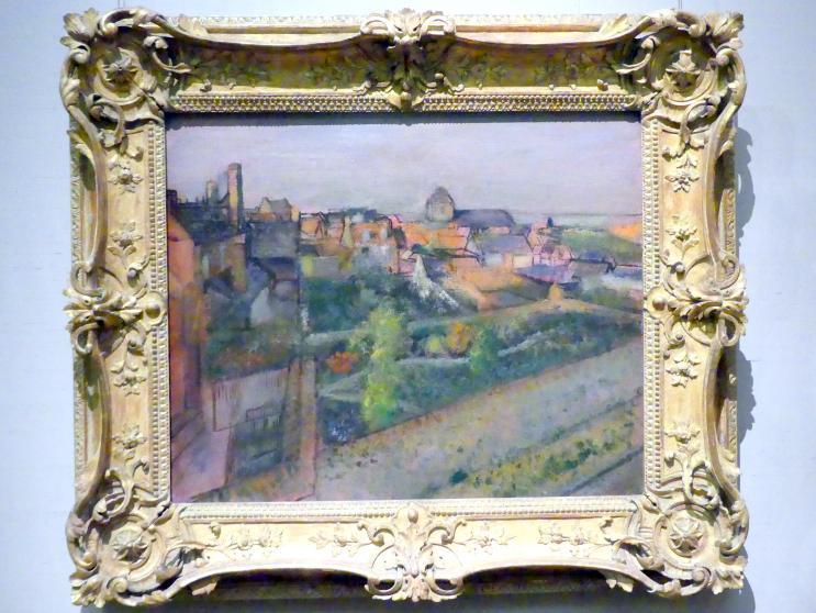Edgar Degas: Blick auf Saint-Valéry-sur-Somme, 1896 - 1898