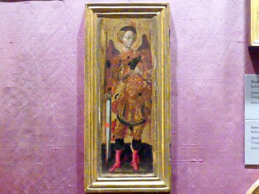 Pietro di Giovanni d'Ambrosio: Heiliger Erzengel Michael, um 1435