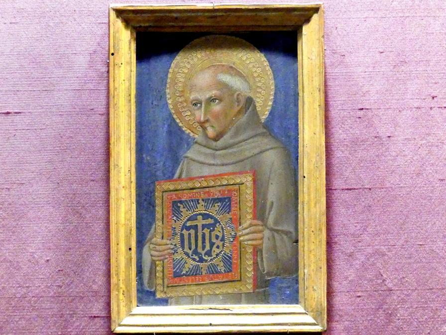 Sano di Pietro (Werkstatt): Heiliger Bernhardin von Siena, um 1460 - 1470