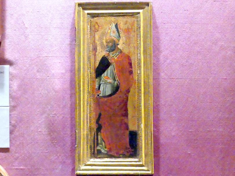 Pietro di Giovanni d'Ambrosio: Heiliger Nikolaus von Bari, um 1435