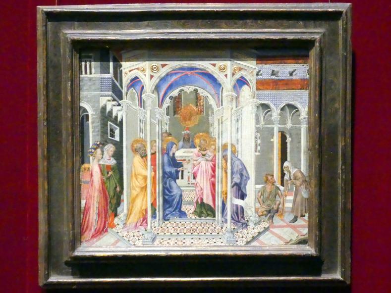 Giovanni di Paolo: Darstellung des Herrn, um 1435