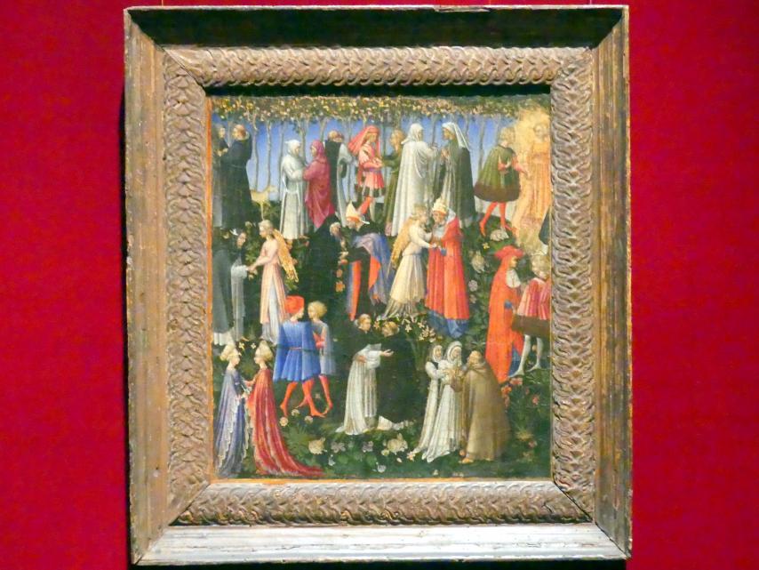 Giovanni di Paolo: Das Paradies, 1445