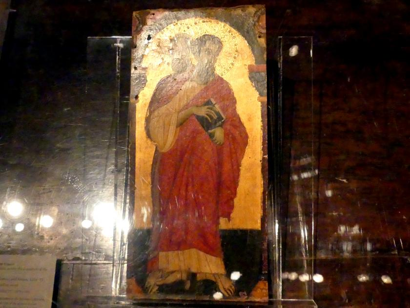 Maestro di San Francesco: Heiliger Bartholomäus und Simon, 1266 - 1275
