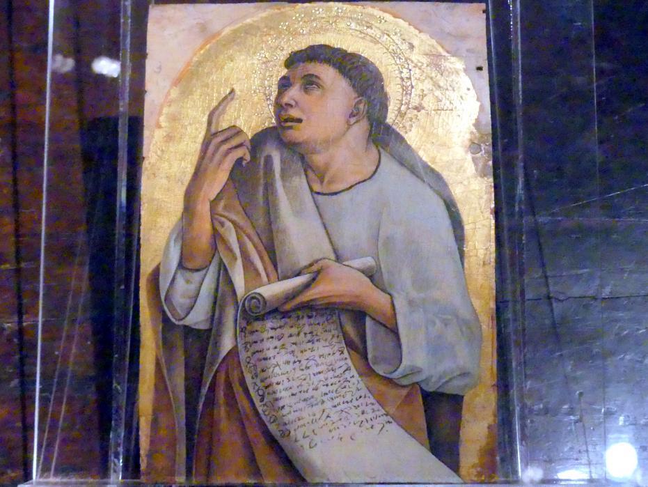 Carlo Crivelli: Ein Apostel, um 1471 - 1473