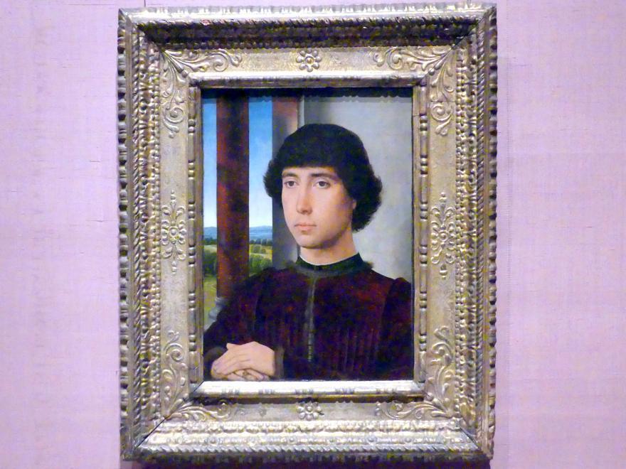 Hans Memling: Porträt eines jungen Mannes, um 1472 - 1475