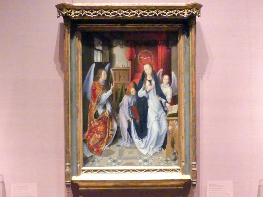 Hans Memling: Verkündigung, 1480 - 1489