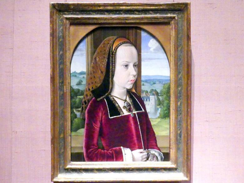 Jean Hey (Meister von Moulins): Margarete von Österreich, um 1490