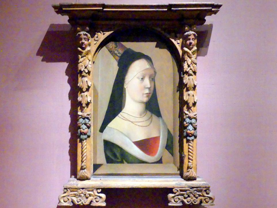 Porträt einer Frau, um 1475 - 1480