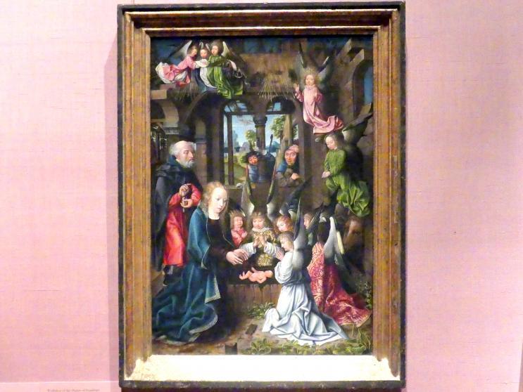 Meister von Frankfurt: Anbetung des Christkindes, um 1496 - 1502