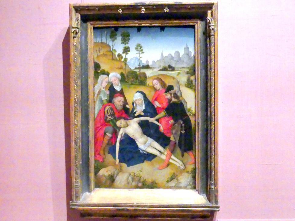 Simon Marmion: Beweinung Christi, um 1467