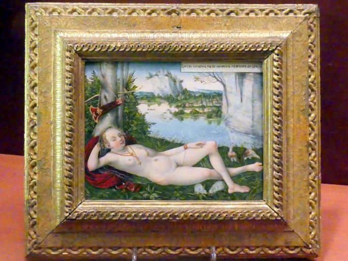 Lucas Cranach der Jüngere: Nymphe des Frühlings, um 1545 - 1550