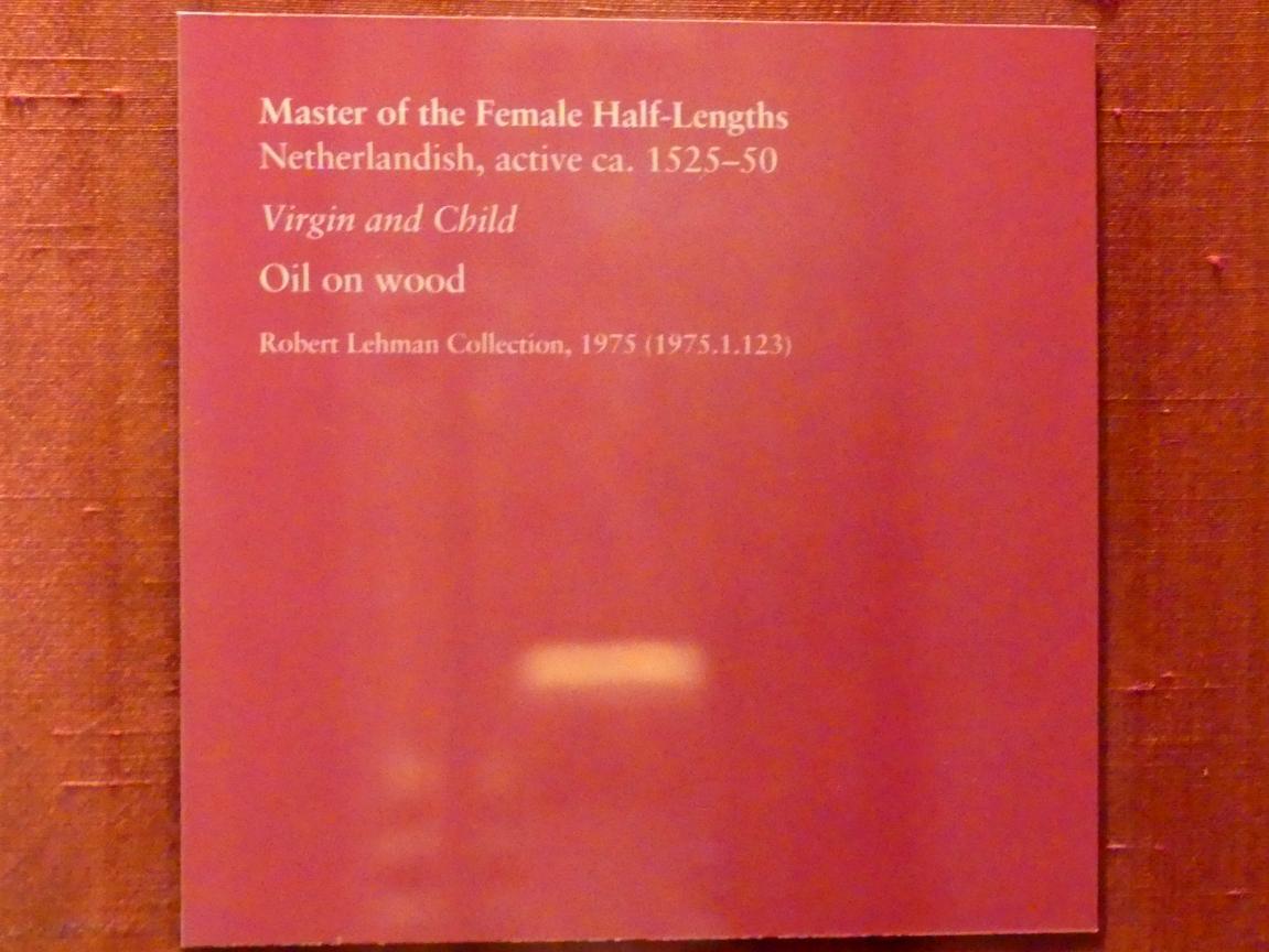 Meister der weiblichen Halbfiguren: Maria mit Kind, um 1525 - 1550, Bild 2/2