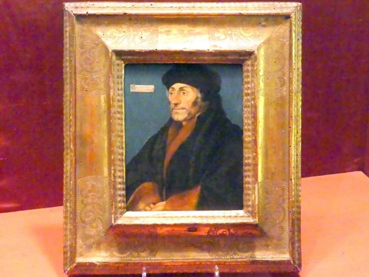 Hans Holbein der Jüngere: Erasmus von Rotterdam, um 1532
