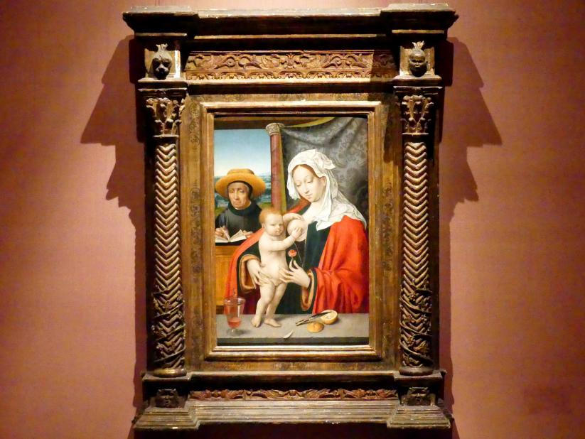 Joos van Cleve (Joos van der Beke) (Werkstatt): Die Heilige Familie, um 1527 - 1533
