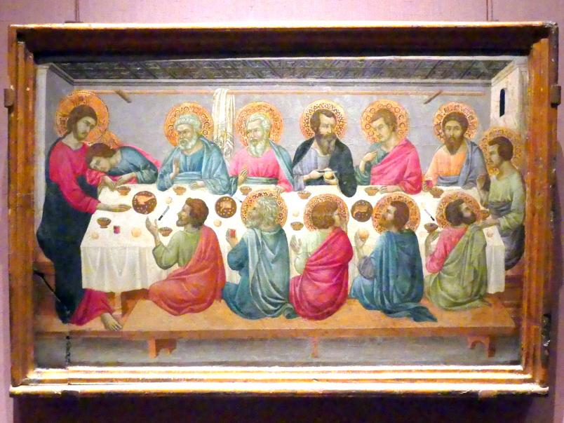 Ugolino di Nerio: Das letzte Abendmahl, um 1325 - 1330