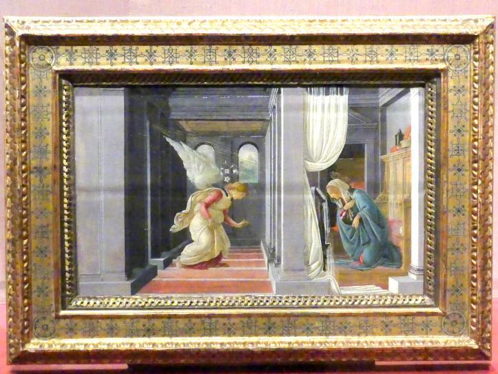 Sandro Botticelli: Die Verkündigung, um 1485 - 1492