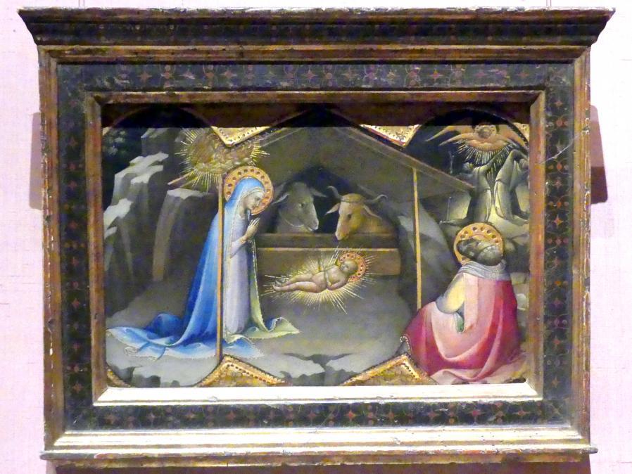 Lorenzo Monaco (Piero di Giovanni): Anbetung des Christkindes, um 1406 - 1410