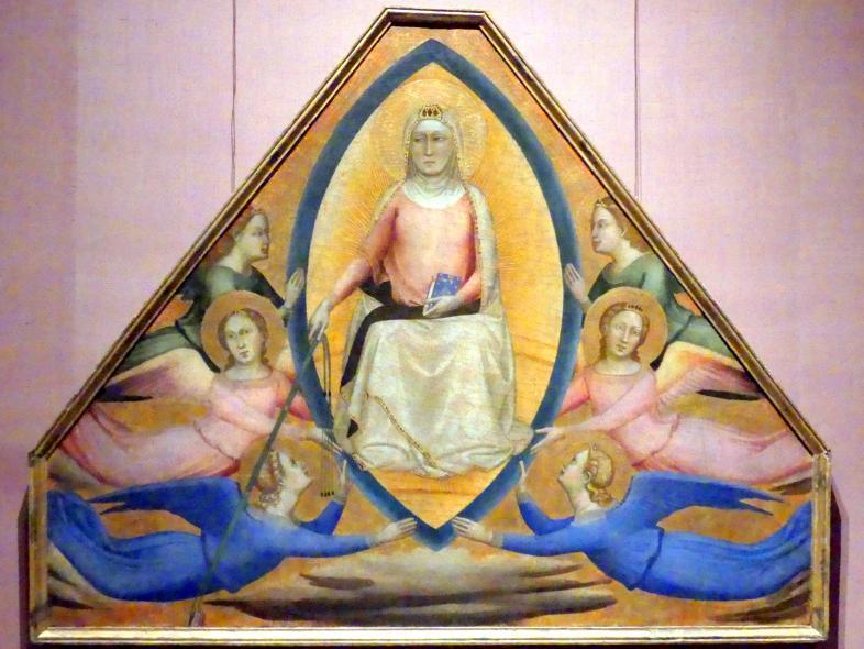 Bernardo Daddi: Mariä Himmelfahrt, um 1337 - 1339