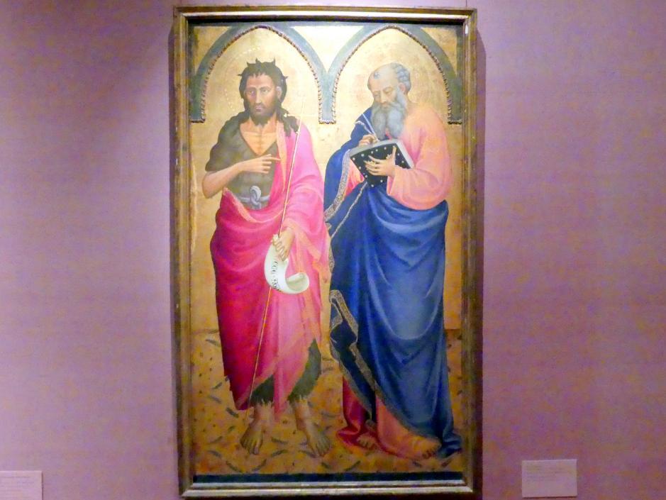 Bicci di Lorenzo: Die Heiligen Johannes der Täufer und Matthäus, um 1433