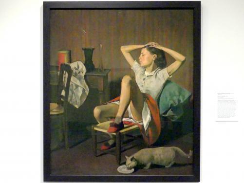 Balthus (Balthasar Kłossowski de Rola): Thérèse Träumt, 1938