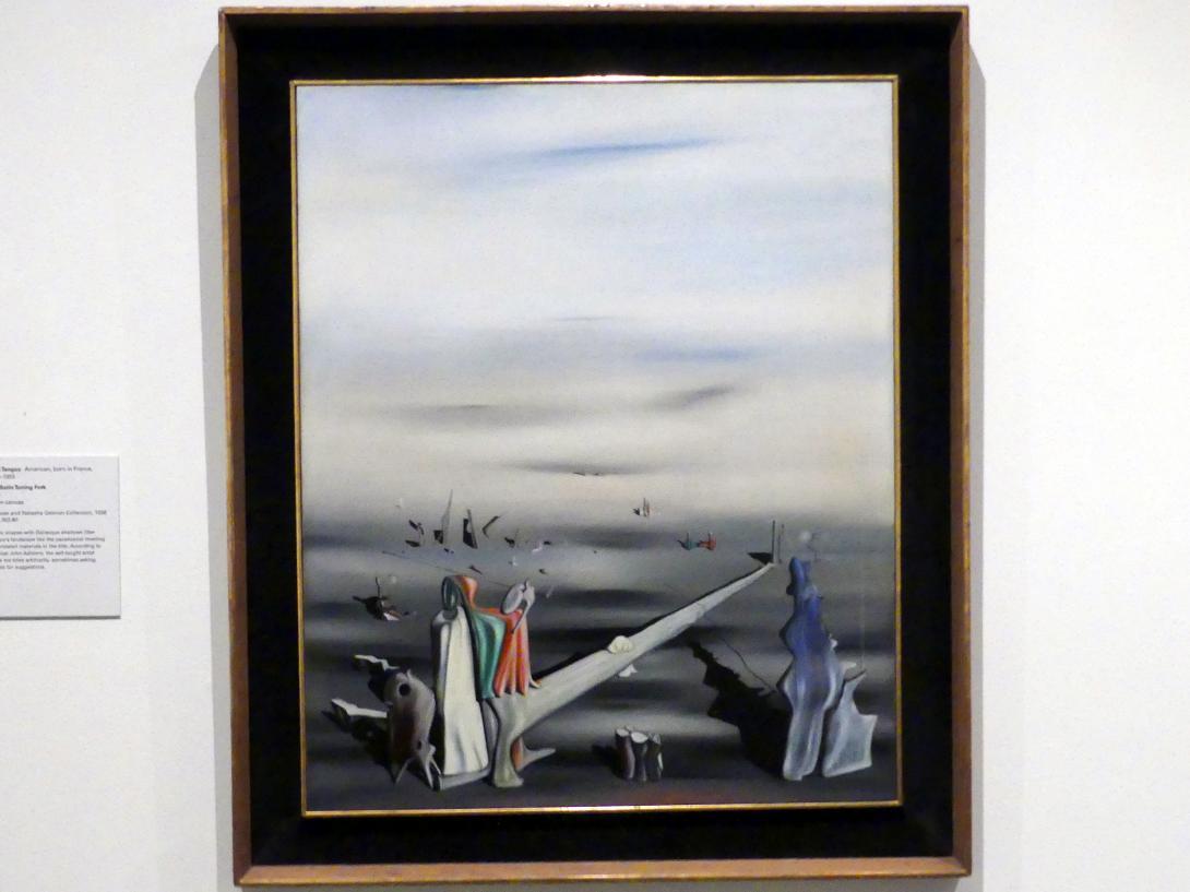 Yves Tanguy: Die Satin Stimmgabel, 1940