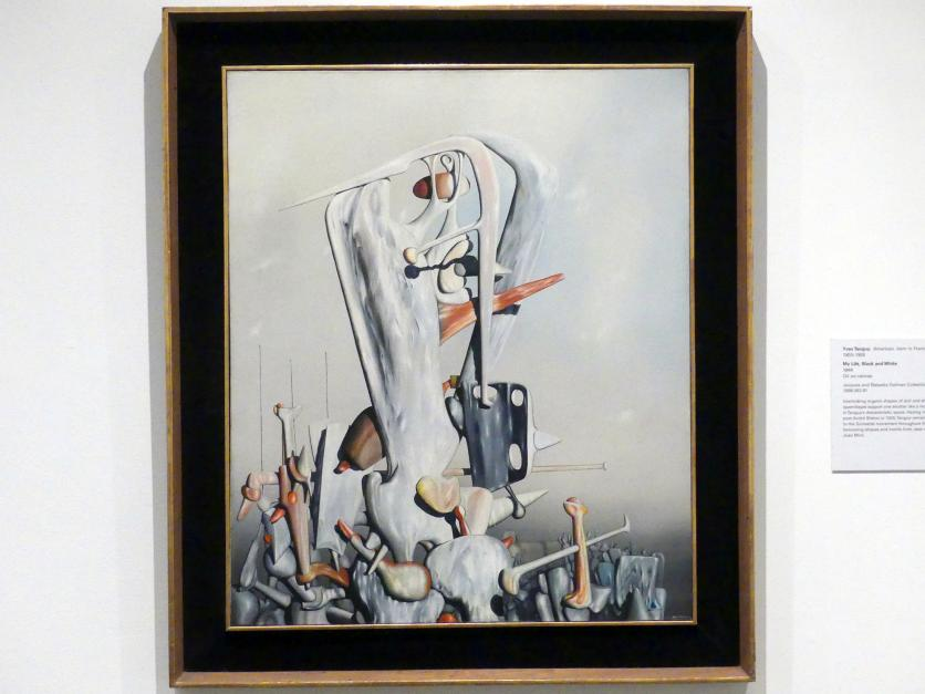 Yves Tanguy: Mein Leben, Schwarz und Weiß, 1944