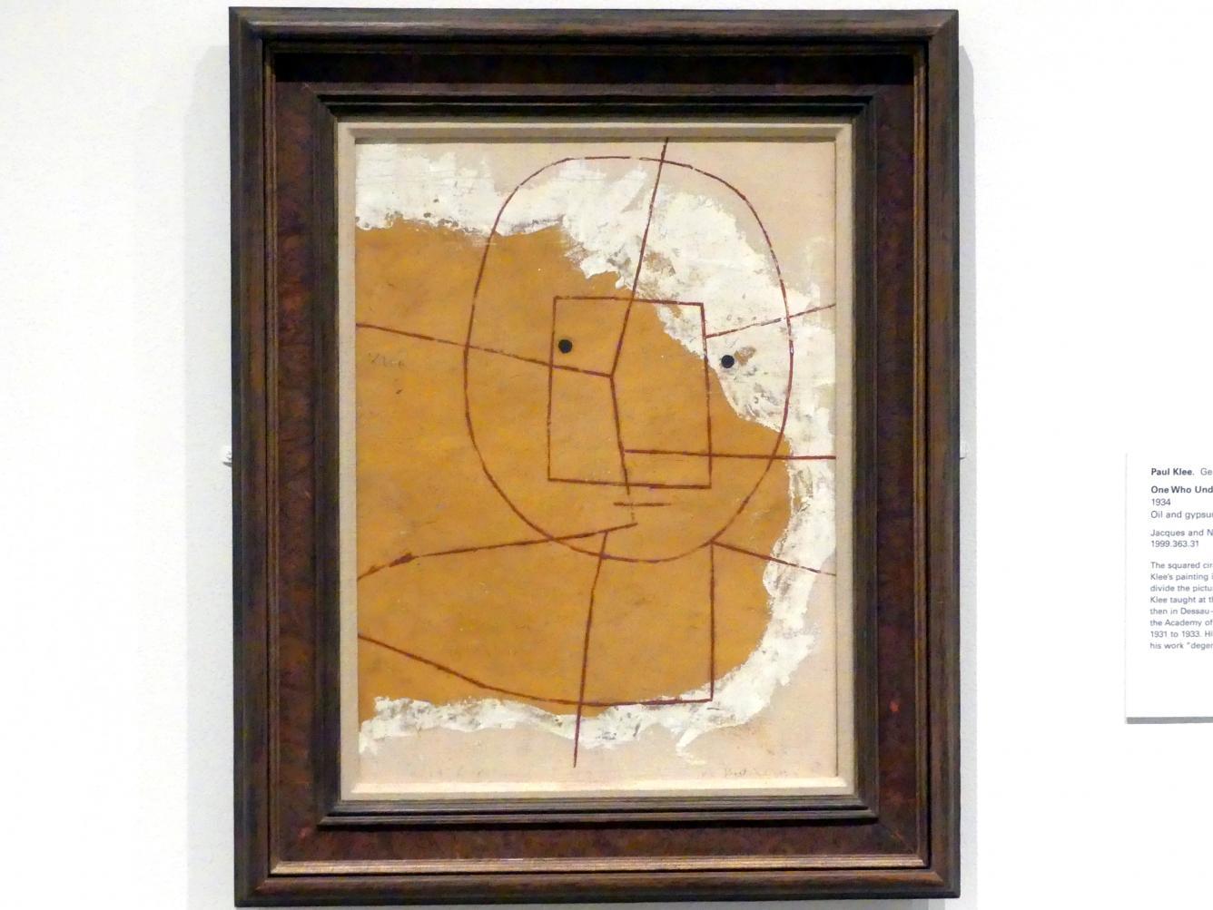 Paul Klee: Einer, der versteht, 1934