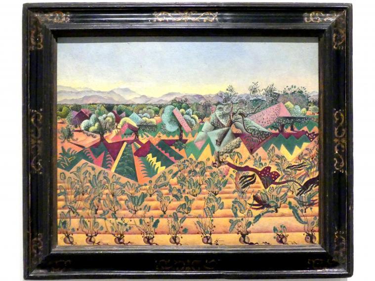 Joan Miró: Weinreben und Olivenbäume, Tarragona, 1919