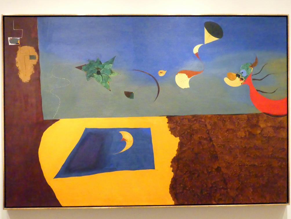 Joan Miró: Animierte Landschaft, 1927