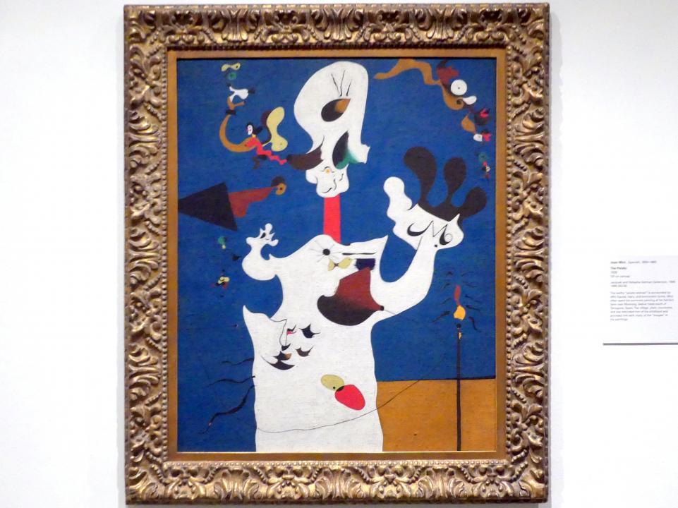 Joan Miró: Die Kartoffel, 1928