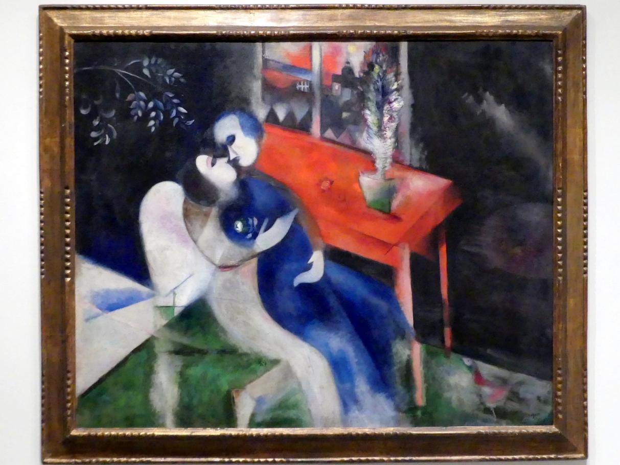 Marc Chagall: Die Liebenden, 1913 - 1914