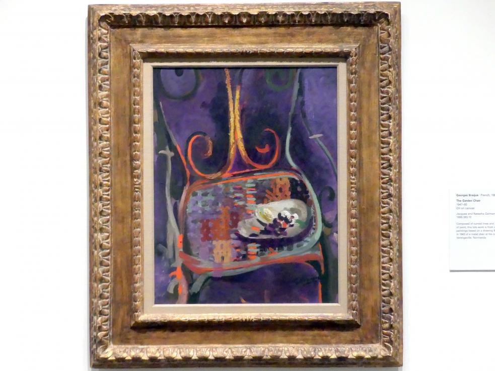 Georges Braque: Der Gartenstuhl, 1947 - 1960
