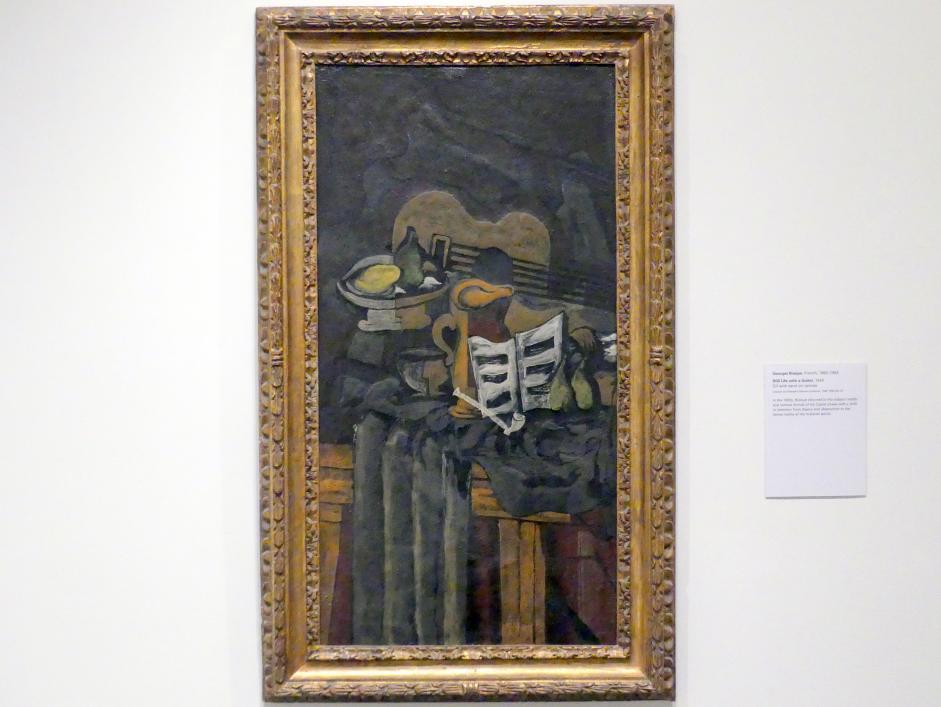 Georges Braque: Stillleben mit Gitarre, 1924