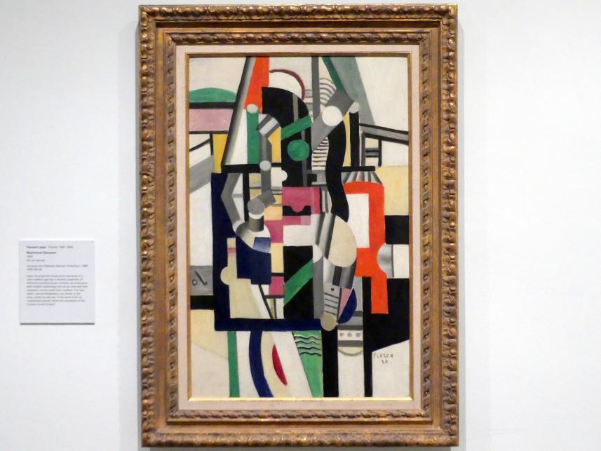 Fernand Léger: Mechanische Elemente, 1920
