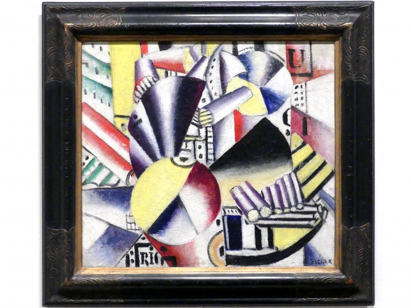 Fernand Léger: Der Kahnführer, 1918